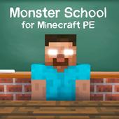 Monster School para Minecraft PE icono