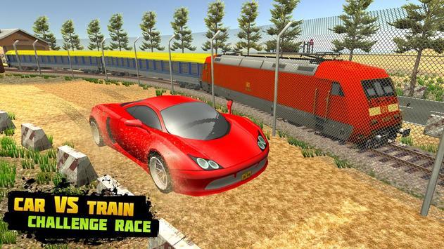 Car vs Train: High Speed Racing Game 截图 3