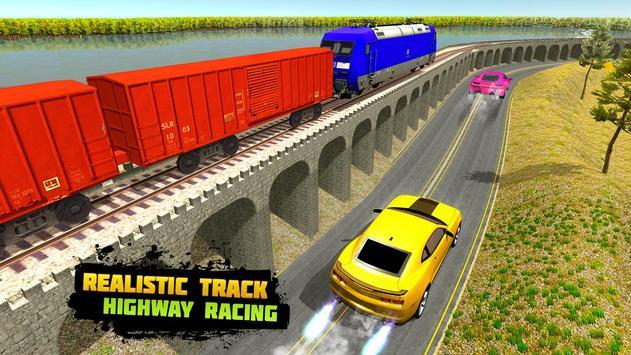 Car vs Train: High Speed Racing Game 截图 4