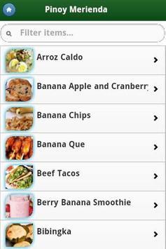Pinoy Food Recipes screenshot 3