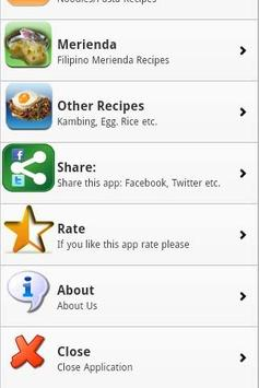 Pinoy Food Recipes screenshot 7