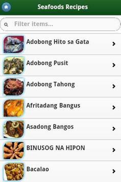 Pinoy Food Recipes screenshot 5