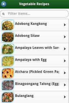 Pinoy Food Recipes screenshot 6