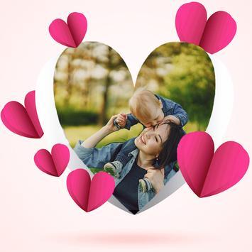 Cute Romance Photo Frame screenshot 2