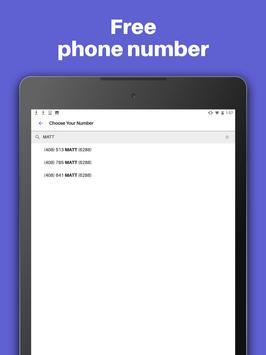 Text Free: WiFi Calling App 🆓 imagem de tela 5