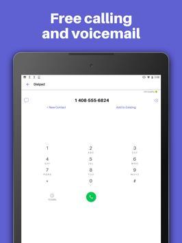 Text Free: WiFi Calling App 🆓 imagem de tela 7