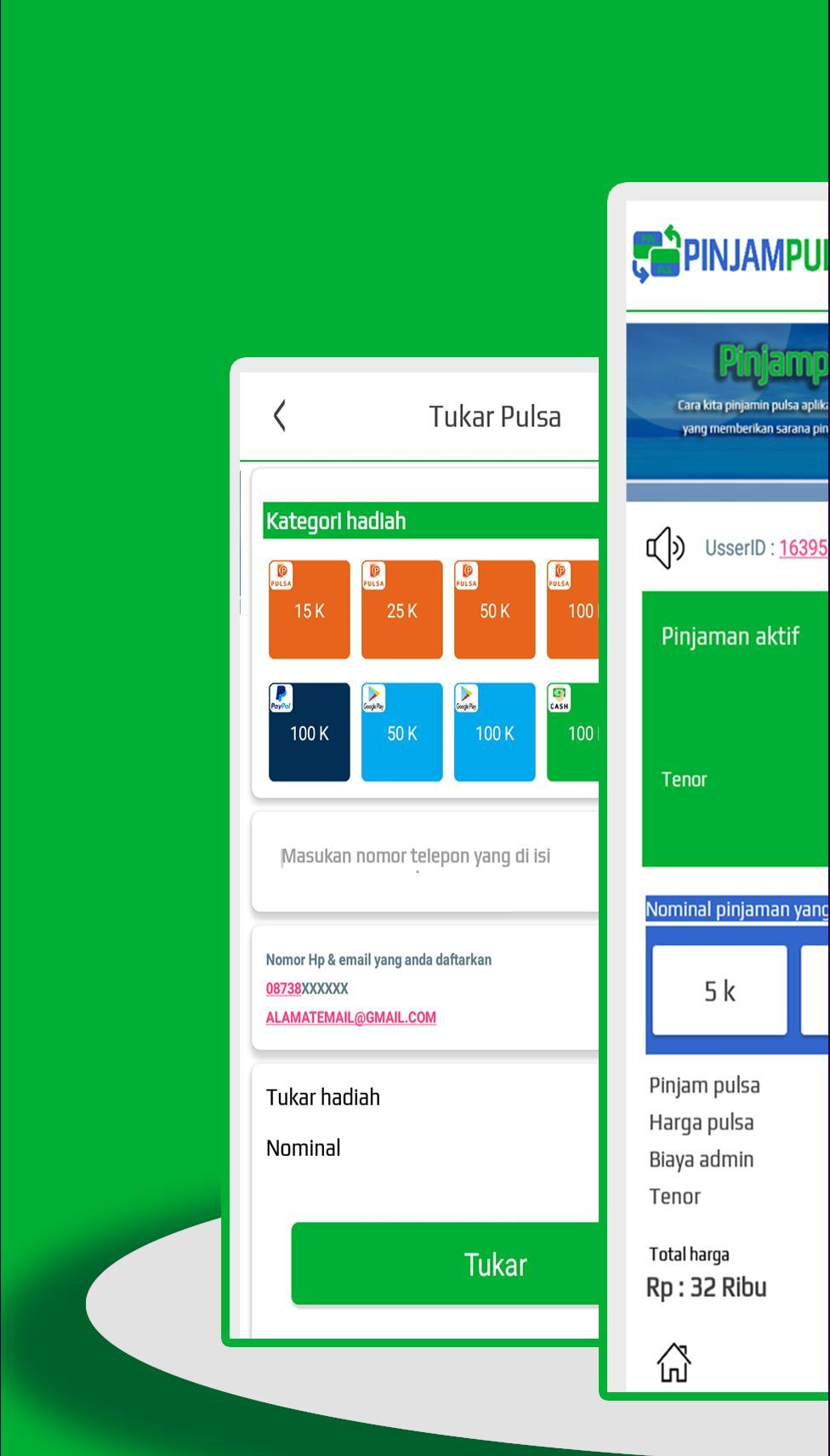 Pinjam Pulsa Online For Android Apk Download