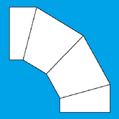 Miter Bend Layout |Fabricated, Segment, Cut Bend| icon