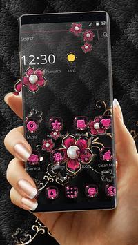 Pink Fower Pearl Business Theme screenshot 4