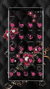 Pink Fower Pearl Business Theme screenshot 5