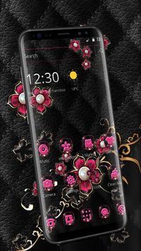 Pink Fower Pearl Business Theme screenshot 2