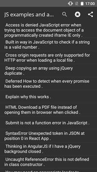 JavaScript 100 000 examples poster