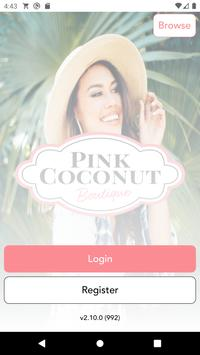 Pink Coconut poster