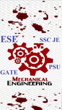 Mechanical Engineering (GATE, RRB JE, SSC, ESE,) 海报