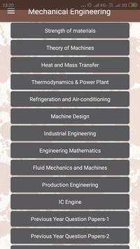 Mechanical Engineering (GATE, RRB JE, SSC, ESE,) 截图 1