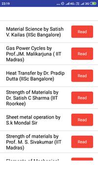 Mechanical Engineering (GATE, RRB JE, SSC, ESE,) 截图 9