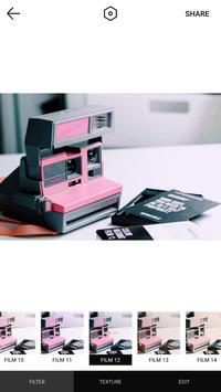 复古相机-Polo Image、最佳照片编辑器、实时相机、Duotone、巴黎、粉红、婚礼 截图 3