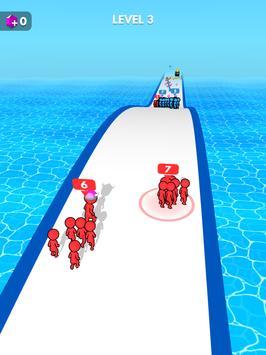 Crowd Battle 3D screenshot 9
