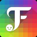 FancyKey Keyboard - Cool Fonts, Emoji, GIF,Sticker APK Android