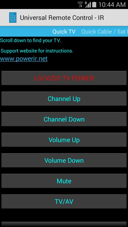 Universal Remote Control for Android - APK Download