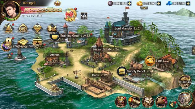 Age Of Pirates تصوير الشاشة 6