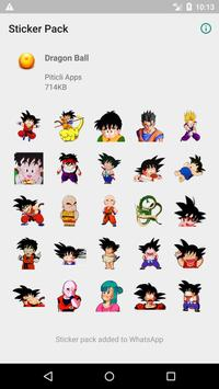 Dragon Ball Stickers for WhatsApp (WAStickerApps) الملصق