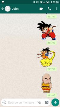 Dragon Ball Stickers for WhatsApp (WAStickerApps) تصوير الشاشة 2