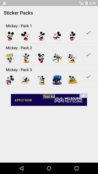 Mickey Mouse - Stickers para WhatsApp poster
