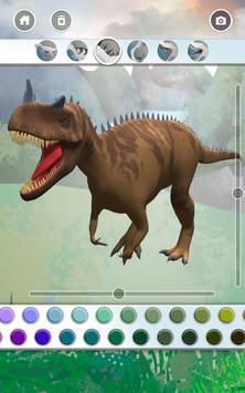 Dinosaurs 3D Coloring Book ảnh chụp màn hình 12