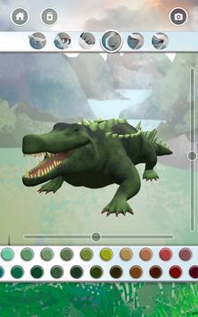Dinosaurs 3D Coloring Book ảnh chụp màn hình 13