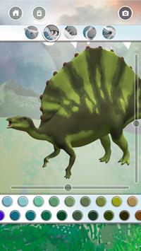 Dinosaurs 3D Coloring Book ảnh chụp màn hình 7