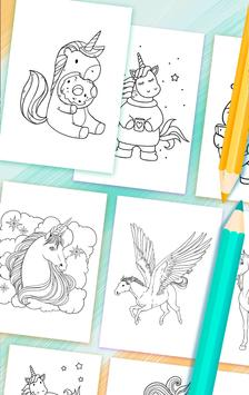 Unicorn Coloring Book screenshot 5
