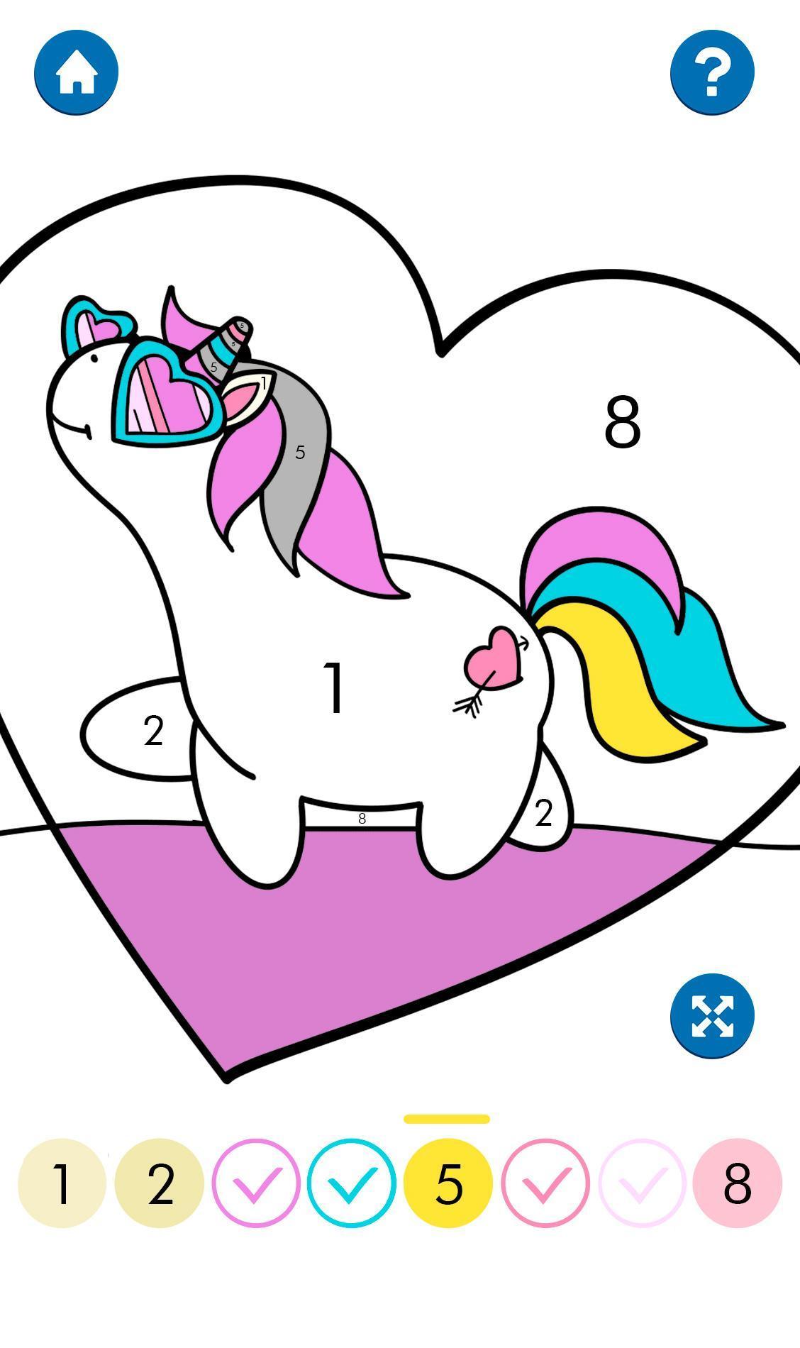 Unicornio Para Colorear For Android Apk Download