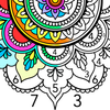 Mandala Color by Number आइकन