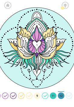 Mandala Color by Number screenshot 5