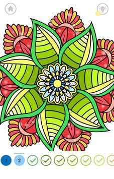 Mandala Color by Number screenshot 7