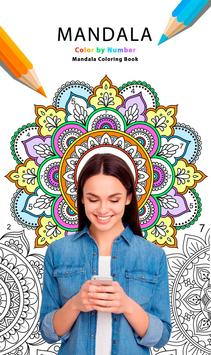 Mandala Color by Number poster