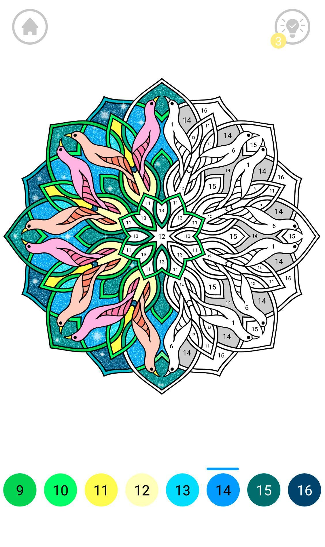 Mandala Color By Number For Android Apk Download