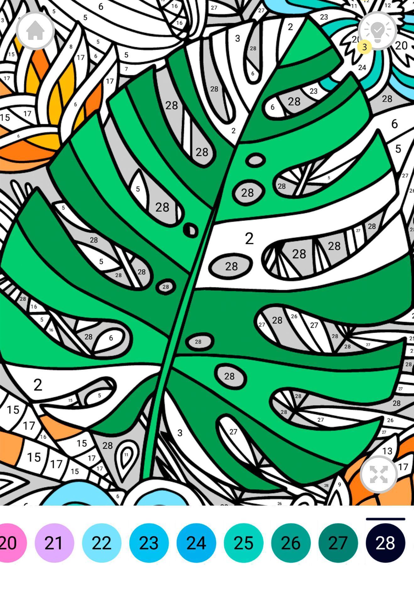 Enjoy Jeux de Coloriage par Numéro pour Android - Téléchargez l'APK