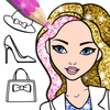 Fashion Coloring Book Glitter 圖標