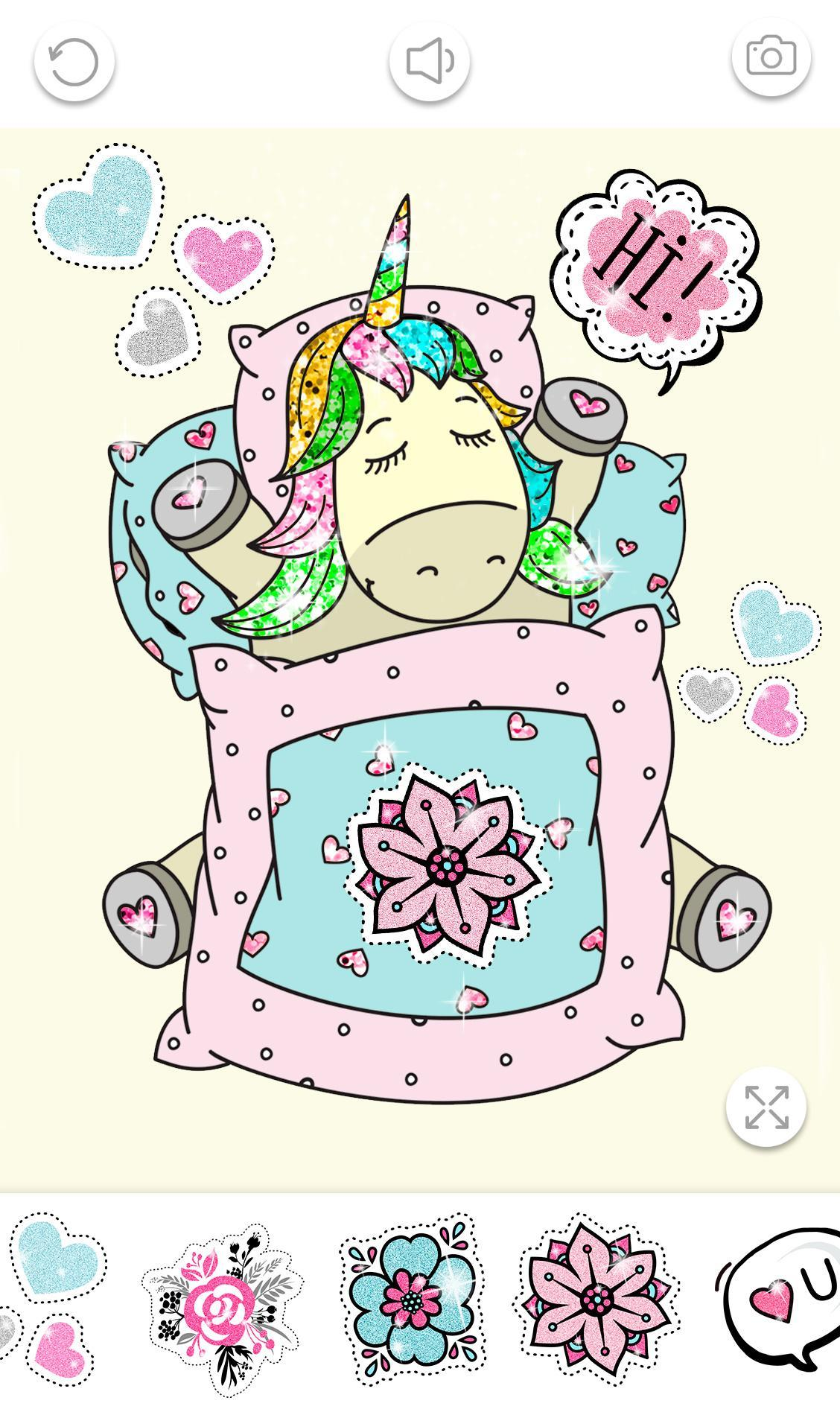 Unicorn Coloring Book Glitter For Android Apk Download