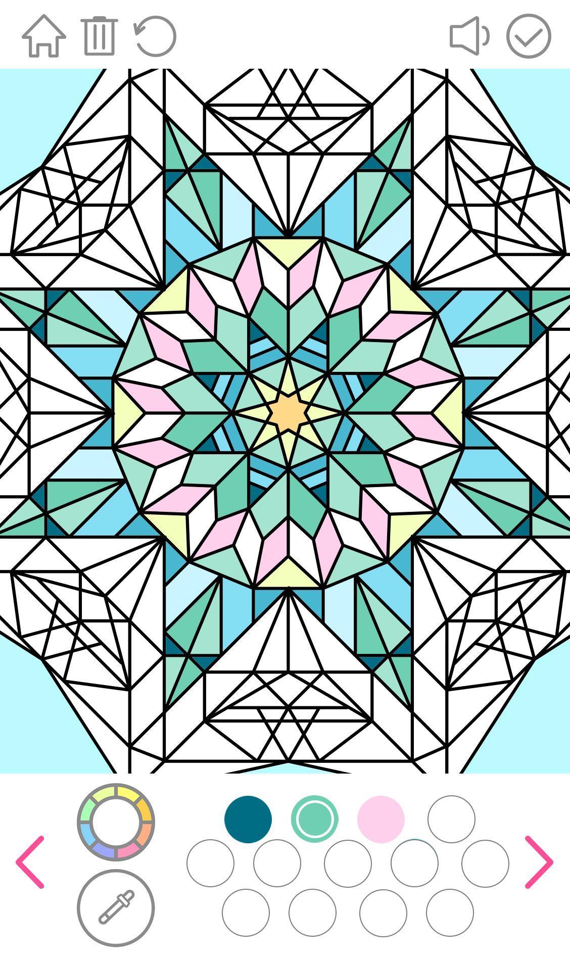 Mandala Coloring Book for Android - APK Download