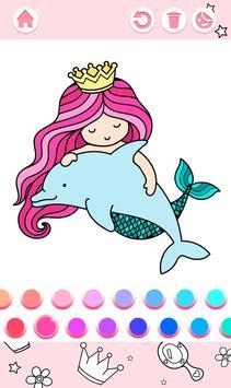Cute Princess Coloring Book screenshot 2