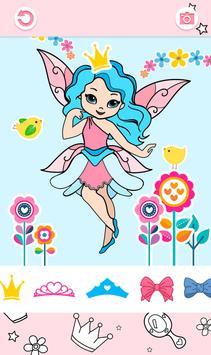Cute Princess Coloring Book screenshot 3