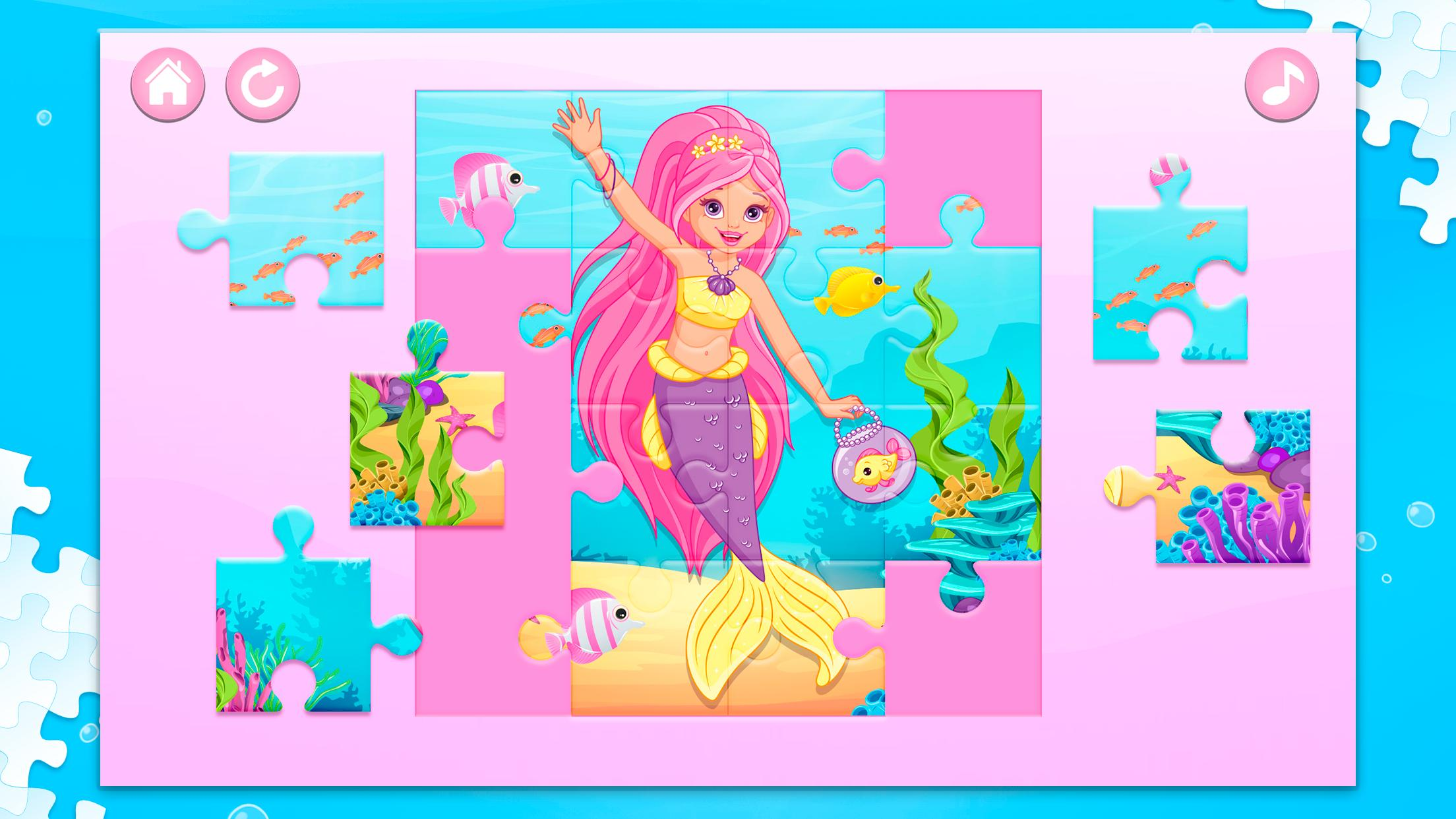 Sirenas Juegos de Rompecabezas for Android - APK Download