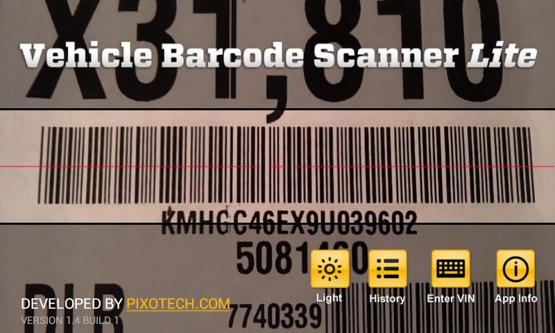 Vehicle Barcode Scanner Lite for Android - APK Download