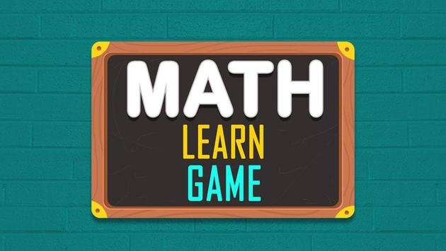Math Learn Game poster