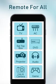 Universal Remote Control for All TV Simulator poster