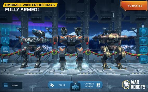 7 Schermata War Robots