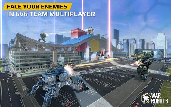 3 Schermata War Robots